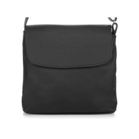 Malá kožená kabelka na rameno HENDY