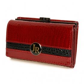 Stredne veľká kožená peňaženka JR