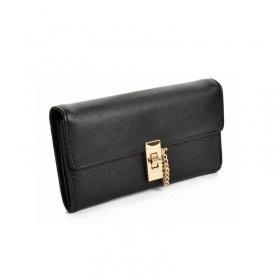 Čierna dámska peňaženka Klasik