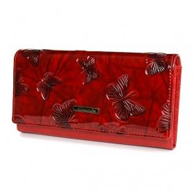 Červená dámska peňaženka ALESSANDRO - TOP2021