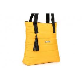 Žltá kabelka BELLA