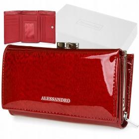 Dámska kožená peňaženka RED