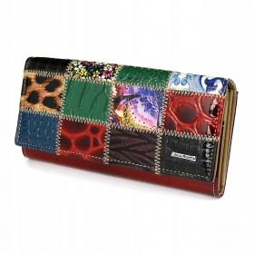 Dámska kožená peňaženka COLORMIX