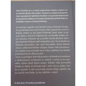 Kniha Diablova zajatkyňa - Jana Pronská