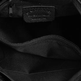 Čierna dámska semišová kabelka Bethany