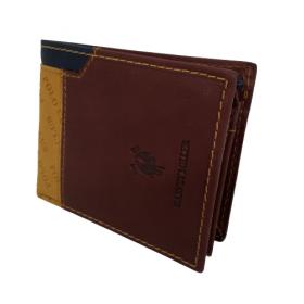 Kožená peňaženka Harvey Miller - hnedá