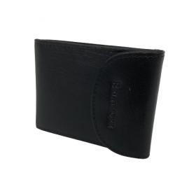 Kožená peňaženka na karty BLACK
