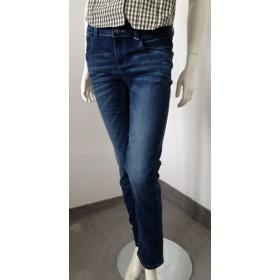 Modré dámske džínsy Tom Tailor