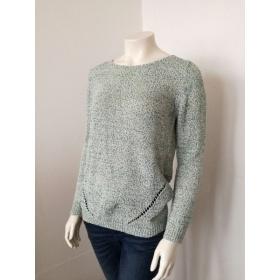 Dámsky pletený sveter Promod zakončený patentom.