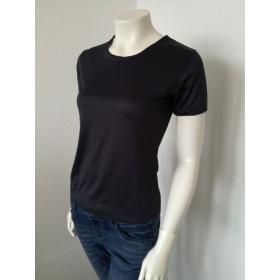 Čierne dámske tričko Fransa
